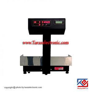 ترازو فروشگاهی مدل 30kg|7500p با نمایشگر اعداد و نمایشگر فارسی