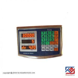 نمایشگر تمام استیل LCD دوطرفه مدل TCS